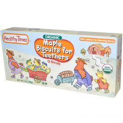Healthy Times, Maple Biscuits for Teethers, 12 Biscuits, 6 oz (168 g)