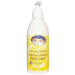 Earth Mama Angel Baby, Baby Lotion, Naturally Calming Lavender Vanilla, 8 fl oz (240 ml)