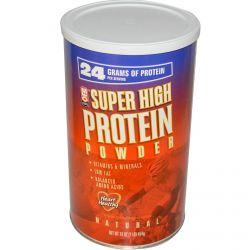 MLO Natural, Super High Protein Powder, 16 oz (454 g)