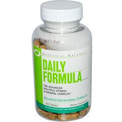 Universal Nutrition, Daily Formula, Multi Vitamin & Mineral Complex, 100 Tablets