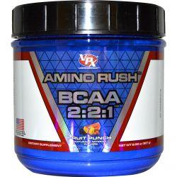 VPX Sports, Amino Rush BCAA 2:2:1, Fruit Punch, 8.00 oz (227 g)