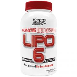 Nutrex Research Labs, Lipo 6, Maximum Strength, 240 Liqui-Caps