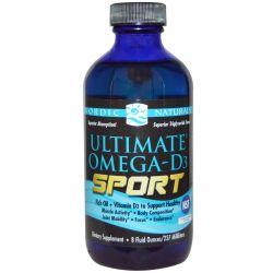Nordic Naturals, Ultimate Omega-D3 Sport, 8 fl oz  (237 ml)