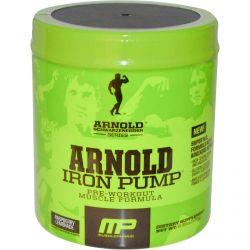 Arnold, Iron Pump, Pre-Workout Muscle Formula, Raspberry Lemonade, 6.35 oz (180 g)
