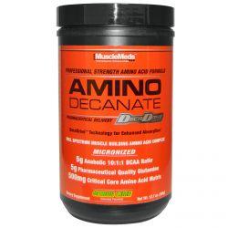 MuscleMeds, Amino Decanate, Professional Strength Amino Acid Formula, Citrus Lime, 12.7 oz (360 g)