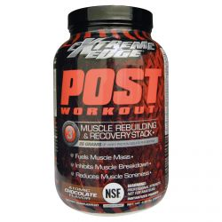 Bluebonnet Nutrition, Extreme Edge, Post Workout, Atomic Chocolate Flavor, 2.65 lbs (1204 g)