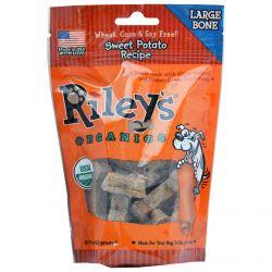 Riley's Organics, Dog Treats, Large Bone, Sweet Potato Recipe, 5 oz (142 g)