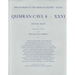 Discoveries in the Judaean Desert: Qumran Cave 4 Volume XXXVI, Miscellaneous Texts from Qumran by Stephen Pfann, 9780198270171.