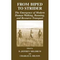 From Biped to Strider, The Emergence of Modern Human Walking, Running and Resource Transport by Jeff Meldrum, 9780306480003.