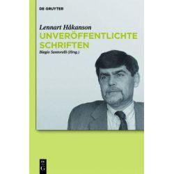 Bücher: Unveröffentlichte Schriften  von Lennart Håkanson