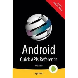 Android Quick API Reference by Onur Cinar, 9781484205242.