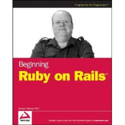 Beginning Ruby on Rails, Wrox Beginning Guides by Steven Holzner, 9780470069158.