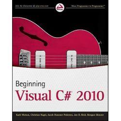 Beginning Visual C# 2010, Wrox Programmer to Programmer by Karli Watson, 9780470502266.