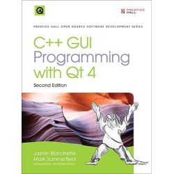 C++ GUI Programming with Qt4, Prentice Hall Open Source Software Development by Jasmin Blanchette, 9780132354165.
