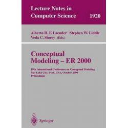 Conceptual Modeling - ER 2000 : 19th International Conference on Conceptual Modeling, Salt Lake City, Utah, U. S. A., Oc