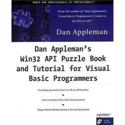 Dan Appleman's API Puzzle Book & Tutorials for Visual Basic with CDROM, APRESSPOD by Dan Appleman, 9781893115019.
