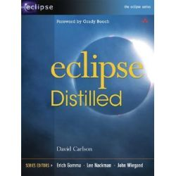 Eclipse Distilled, Eclipse (Addison-Wesley) by David Carlson, 9780321288158.