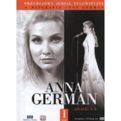 Anna German. Tom 1. Odcinki 1-4 (DVD)