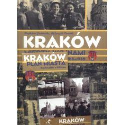Kraków między wojnami 1918-1939 + Kraków. Reprint planu z 1931 roku + CD (komplet)