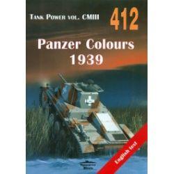 Panzer Colours 1939. Tank Power vol.CMIII 412