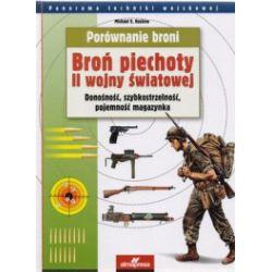 Porównanie broni. Broń piechoty II wojny światowej. Donośność, szybkostrzelność, pojemność magazynka