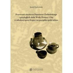 Przestrzeń osadnicza Pojezierza Chełmińskiego i przyległych dolin Wisly, Drwęcy i Osy w młodszej epoce brązu i na początku epoki żelaza (CD)
