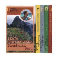 Blondynka w Peru + Blondynka na Sri Lance + Blondynka w Himalajach + Blondynka w Brazylii (komplet)