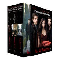 Pakiet. L. J. Smith. Pamiętniki wampirów. Księga 1, 2, 3