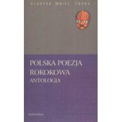 Polska poezja rokokowa. Antologia