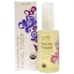 Acure Organics, Facial Toner, Balancing Rose + Red Tea, 2 fl oz (59 ml)