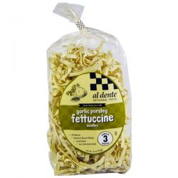 Al Dente Pasta, Garlic Parsley Fettuccine Noodles, 12 oz (341 g)