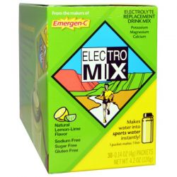 Alacer, Electro Mix, Lemon-Lime, 30 Packets, 0.14 oz (4 g) Each
