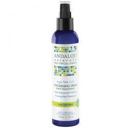 Andalou Naturals, Argan Stem Cells Thickening Spray, 6 fl oz (178 ml)