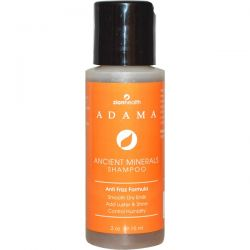 Zion Health, Adama, Ancient Minerals Shampoo, Anti-Frizz Formula, 2 oz (59.15 ml)