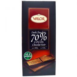 Valor, Dark Chocolate, 70% Cocoa, 3.5 oz (100 g)