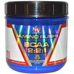 VPX Sports, Amino Rush BCAA 2:2:1, Wild Grape, 7.41 oz (210 g)