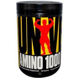 Universal Nutrition, Amino 1000, Precision Engineered Amino Formula, 500 Capsules