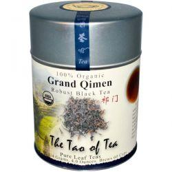 The Tao of Tea, Organic Grand Qimen, Robust Black Tea, 4 oz (114 g)