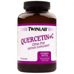 Twinlab, Quercetin + C, 120 Capsules