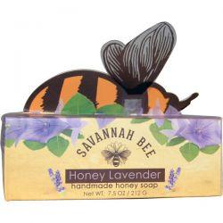 Savannah Bee Company Inc, Handmade Honey Soap, Honey Lavender, 7.5 oz (212 g)