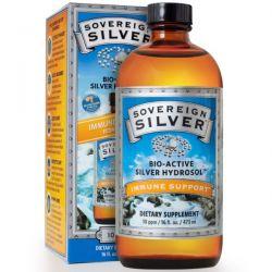 Sovereign Silver, Colloidal Bio-Active Silver Hydrosol, 10 PPM, 16 fl oz (473 ml)