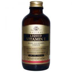 Solgar, Natural Liquid Vitamin E, 4 fl oz (118 ml)