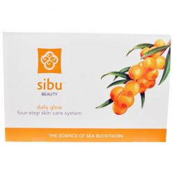 Sibu Beauty, Daily Glow Four-Step Skin Care System, 1 Set