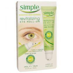 Simple Skincare, Revitalizing Eye Roll-On, 0.5 fl oz (15 ml)