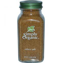 Simply Organic, Celery Salt, 5.54 oz (157 g)