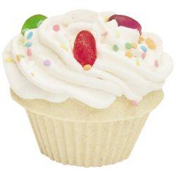 Smith and Vandiver Bath Fizz, The Fizzy Baker, Cupcake Bath Fizz, Jelly Bean, 5.25 oz (148 g)