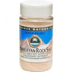 Source Naturals, Crystal Balance, Himalayan Rock Salt, Fine Grind, 12 oz (340 g)
