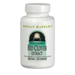 Source Naturals, Red Clover Extract, 500 mg, 60 Tablets