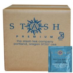 Stash Tea, Licorice Spice Herbal Tea, Caffeine Free, 100 Foil Teabags, 6.30 oz (180 g)