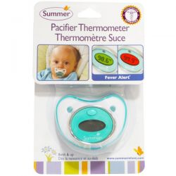 summer pacifier thermometer instructions